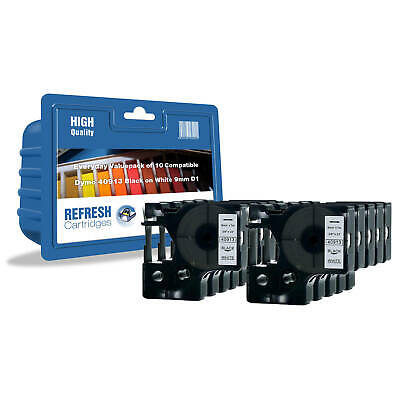 Refresh Cartridges Rolls 2093096 Compatible With Dymo Label Printers