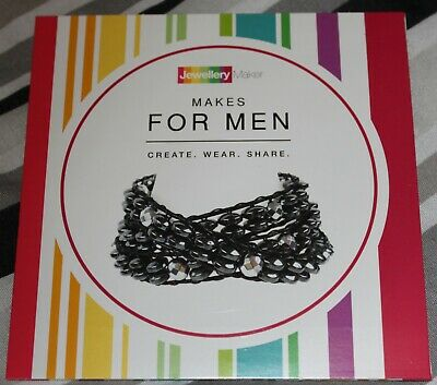 MAKES FOR MEN crafts tuition DVD gemstones beads tools MARK SMITH JEWELLERY