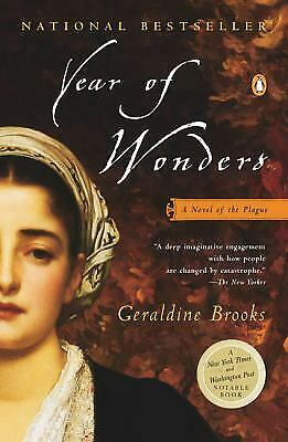 Year of Wonders: A Novel of the Plague  (ExLib) by Brooks, Geraldine