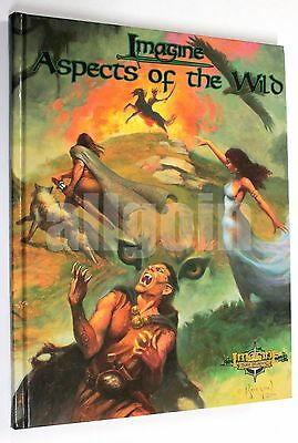 Imagine Role-Playing BESTIARY ASPECTS OF THE WILD 2001 RPG Rulebook Supplement