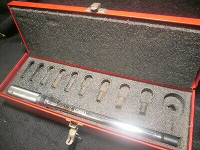 Tesco T17801 Box Wrench Torque Kit with CDI Torque Wrench 20-150Ft/Lbs
