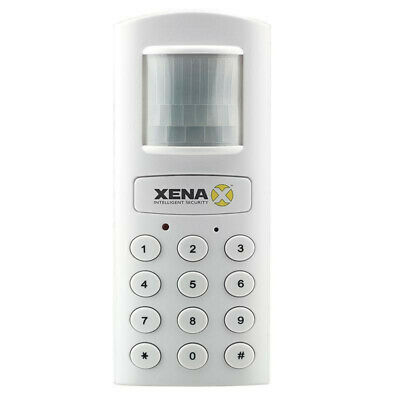 Xena XA801 Garage Motorcycle Remote Controlled Alarm Autodial to Landline White