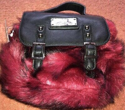 Girls Faux Fur Handhag From Next Brand New With Tags