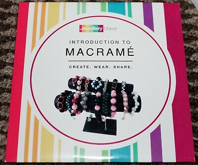 INTRO TO MACRAME crafts tuition DVD gemstones beads tools MARK SMITH JEWELLERY