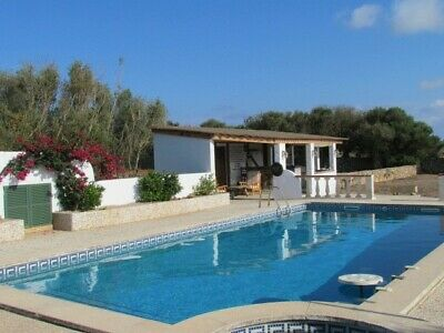 Holiday Villa In Menorca, Sleeps 6 People, very private and own pool