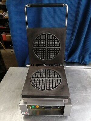 Roller Grill Ges-70 Commercial  Waffle Maker 180Mm Waffle