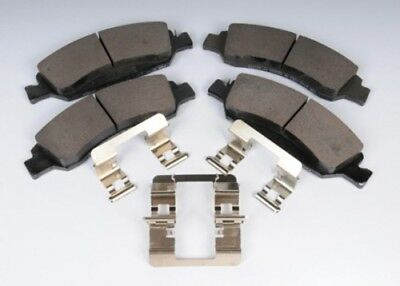 Clips ACDelco 171-1068 GM Original Equipment Rear Disc Brake Pad Kit with Brake Pads and Bolts
