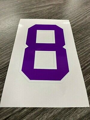 KOBE BRYANT #24 #8 LA Lakers NBA Basketball Vinyl Decal Sticker Bumper Car NY