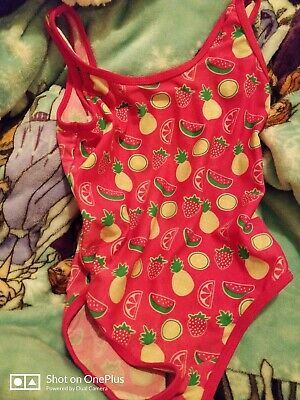 Lovely Girls Young Dimensions Multi Fashion Swimming Costume Age 6-7yrs