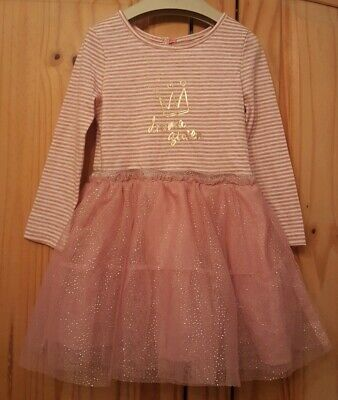 girls pink dress age 2-3 years primark