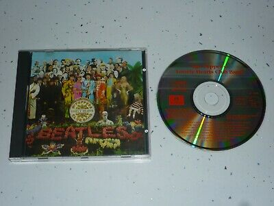 The Beatles Sgt Pepper's Lonely Hearts Club Band Cd Plays Excellent (1987 Issue)