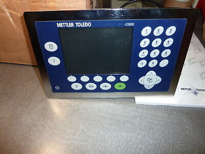Mettler Toledo Replacement Weighing Terminal Ics689 New Free Shipping