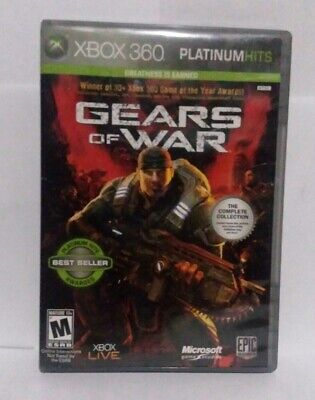 Gears Of War: The Complete Collection (Platinum Hits) (Microsoft Xbox 360)