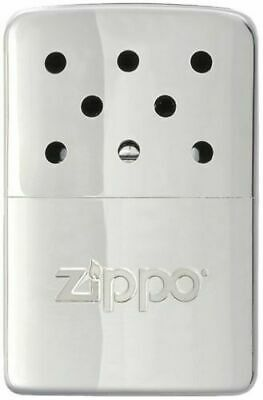 Small Hand Warmer Zippo New (Heating Hands) Chrome 6 H (Petrol, Rechargeable)