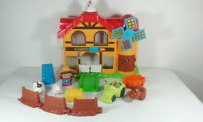 Vtech Toot Toot Friends Farmer Joe And Farm House with animals & Accessories