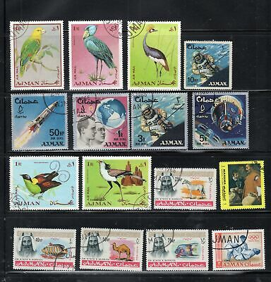 Ajman Trucial  Middle East   Stamps Used Lot 10932