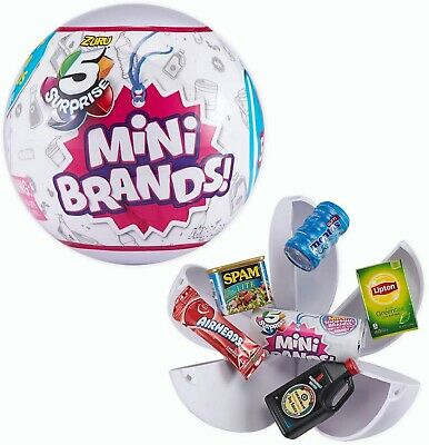 Zuru 5 Surprise Mini Brands - 2 Pack Of Balls New In Package Fast Free Shipping