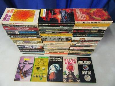 BIG Lot (57) ISAAC ASIMOV Vintage Science Fiction Sci Fi Books ROBOT, FOUNDATION