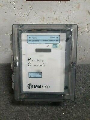 Met One Water Particle Counter PCX CE w/ Display 2083475-03 115V 2u 100mL/mn S43