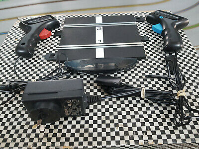 Scalextric Latest Power Base,Transformer & 2 Speed Limiting Hand Cont Mint