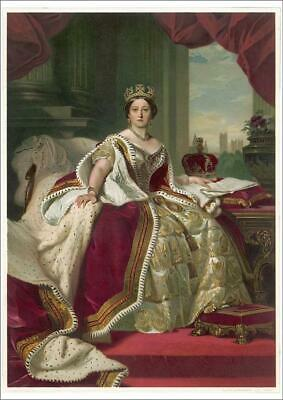 A1 (84x59cm) Poster of Queen Victoria from