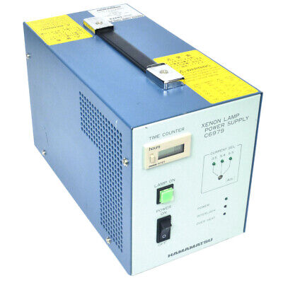 Hamamatsu C6979 Xenon Lamp Constant Current Power Supply 3.5A 5.4A 5.5A