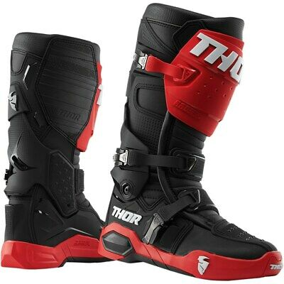 Thor Stiefel Radial Boot Red/Black US 9 EU 43 Boots