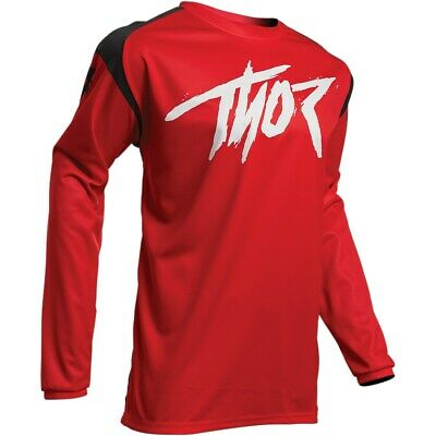 Thor Jersey Men´s Sector Link S20 red Enduro Fahrerhemd