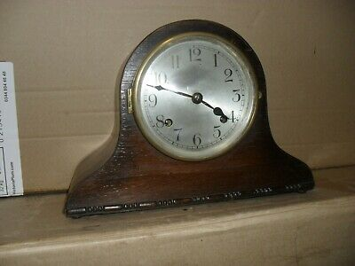 Art Deco Mantle Clock with hourly chime
