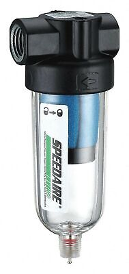 Speedaire, 4ZL16, Pneumatic Oil Filter, 1/8 in. NPT, 6 cfm