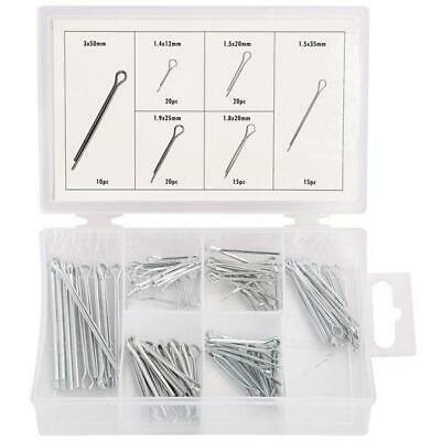 100pc Box of Assorted Cotter Pin / Pins - Split Retaining Clips