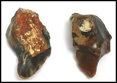 Paleolithic Achuelian early man 2 pebble choppers British archaeology prehistory