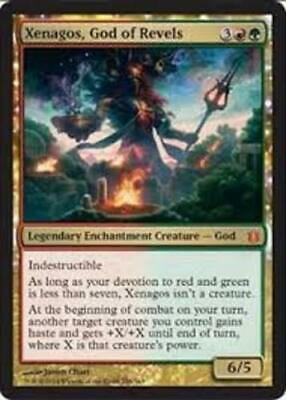 MTG magic cards 1x x1 NM-Mint, English Xenagos, God of Revels Born of the Gods