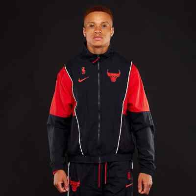 nike NBA DRY TRACK SUIT CHICAGO BULLS UNIVERSITY REDWHITE