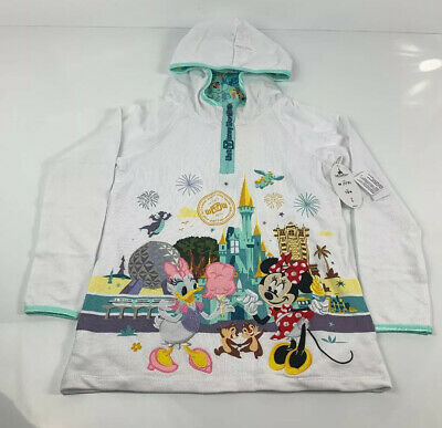 Disney Parks Children's Hoodie Medium Mickey Minnie Mouse, Daisy Duck, Dole Whip