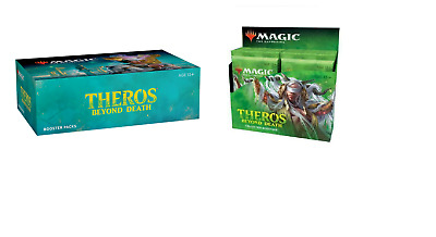 MTG Magic Theros Beyond Death Collector Booster & Booster Box Sealed!