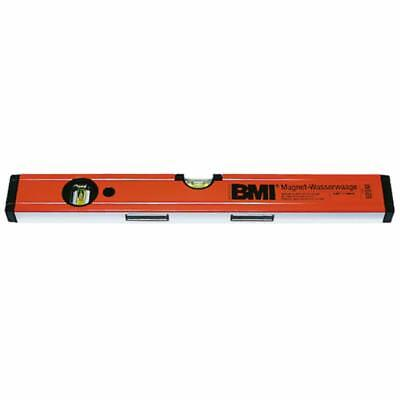 Bmi Bubble Level Made of Aluminium with Magnet Length 400 MM