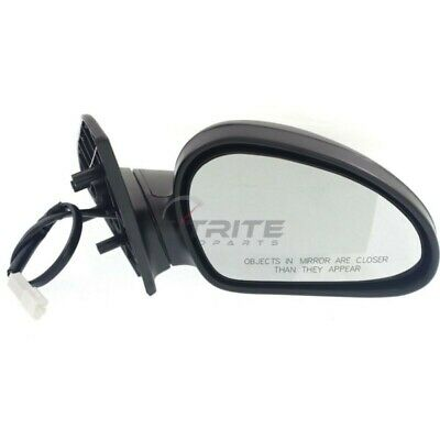 NEW RIGHT SIDE MANUAL MIRROR TEXTURED BLACK FITS 1997-2002 FORD ESCORT FO1321166