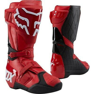 Fox 180 Boot MX Stiefel roter MX Enduro Offroad Steifel