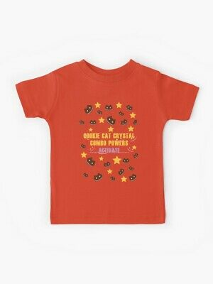 Steven Universe Yellow Star Cookie Cat Powers - Kids Shirt - Youth Sizes 1 - 12