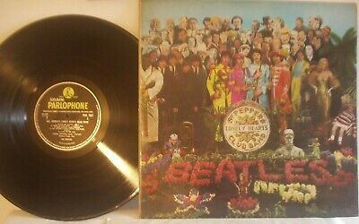 SGT. Pepper's Lonely Hearts Club Band Beatles LP  Vinyl Record FIRST PRESS