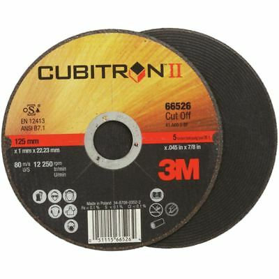 50x 3M Cubitron II Disques 180 x 1,6 X 22,2 mm Dur, Extra Mince, pour Inox