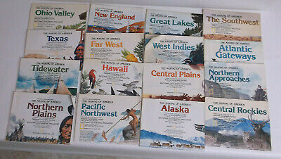 National Geographic Making of America Series 16 maps Educational Historical