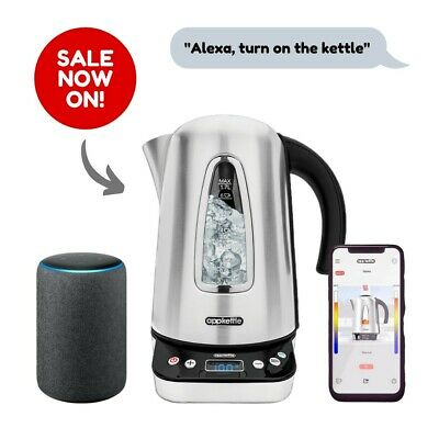 Appkettle BRAND NEW Wifi Smart Internet App Enabled & Voice Controlled Kettle
