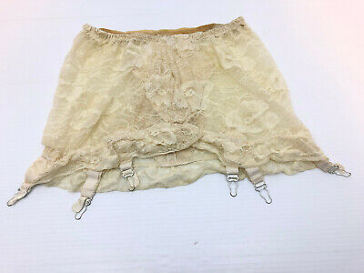 Vtg 50s 60s NEW Mini Length Girdle Garters Belt For Waists 24-31 Shaper Smoother