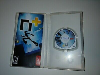 n+ Plus ( Sony PlayStation PSP, 2007) Complete Atari Fast Shipping Family Fun