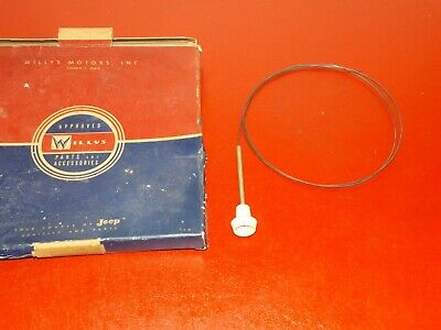 1935-37 Oldsmobile Jeep Vacuum Line Imperial #258-FT NORS 1952-60 Willys