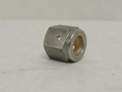 183382 New-No Box, Swagelok SS-4-VCO-4 Female O-Ring Face Seal Nut, SS