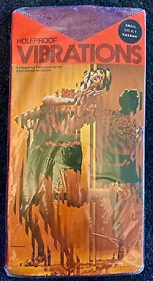 Vintage Holeproof Vibrations Pantyhose Casbah Small Size 8-9
