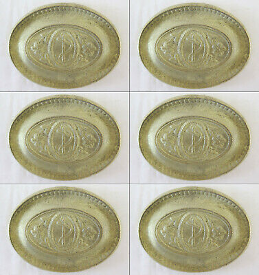 6 Lockets Fret Bronze Golden Frieze Furniture Antique Decoration Art CH29